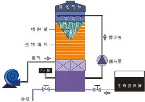 生物滤池工艺流程